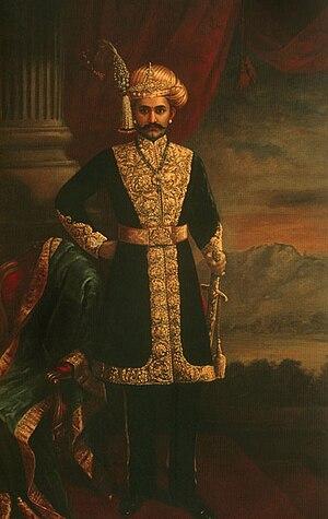 Chamarajendra Wadiyar X - HH Sri Chamarajendra Wadiyar X by Raja Ravi Varma