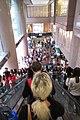 HK CWB 銅鑼灣 Causeway Bay 時代廣場 Times Square mall escalators Russell Street Gucci sign Nov 2017 IX1.jpg