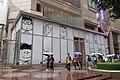 HK CWB 銅鑼灣 Causeway Bay 羅素街 Rusell Street snoopy n friends world exhibition house n rainy day visitors November 2017 IX1.jpg