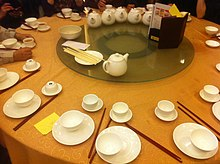 Place settings before a meal is served. In most traditional Chinese ... : traditional chinese table setting - Pezcame.Com