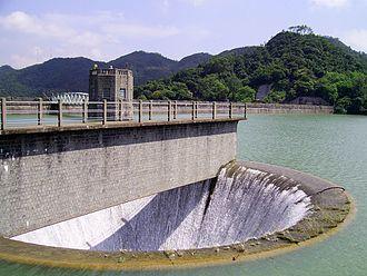 Shing Mun Reservoir - Reservoir Bellmouth Overflow and Valve Tower