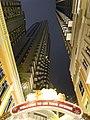 HK Wan Chai night Lee Tung Avenue name sign n facades n lighting Dec-2015 DSC.JPG