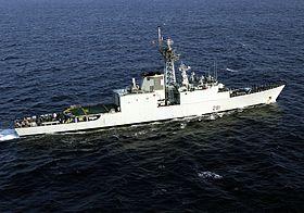 NCSM Huron (DDG 281) — Wikipédia