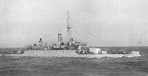 HMS Mersey (1913) - HMS Mersey