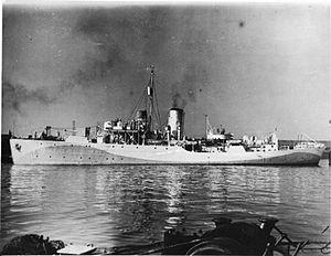 SS Aguila - Image: HMS Wallflower FL5734