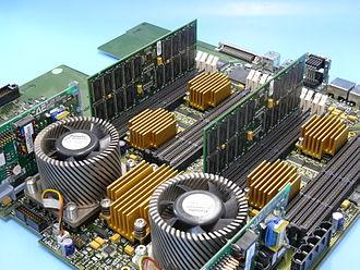 HP 9000 - HP 9000 model J6000 system board