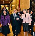 HRH PrinceHassan (Jordan), Irina Bokova (UNESCO), Zafra M. Lerman at the Malta Conference V (Paris).jpg