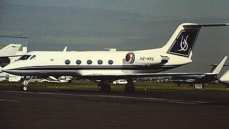 Gulfstream III - Gulfstream III in 1981