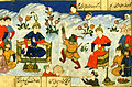 Habib Allah ibn 'Ali ibn Husam - Alexander the Great Entertained at the Court of the King of China - Walters W608287A - miniature.jpg