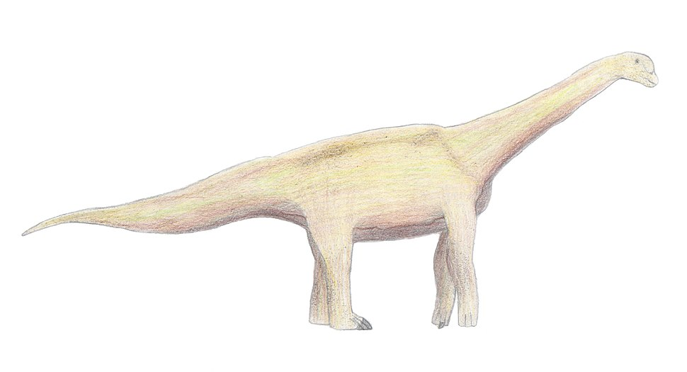 Haestasaurus life restoration