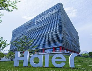 Haier Chinese multinational consumer electronics and home appliances company