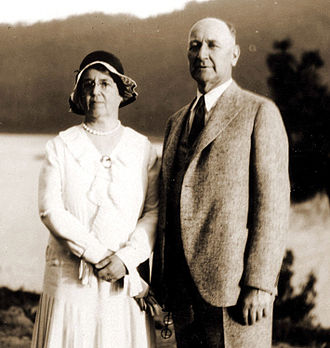 Albert Hale Sylvester - Albert H. Sylvester and his wife Alice