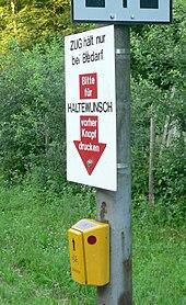 Zastávka na znamení