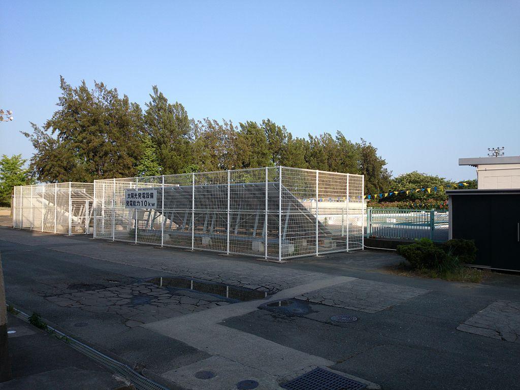 File Hamamatsu Technical High School Swimming Pool Solar