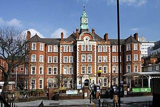Hammersmith Hospital Hospital in Du Cane Road, London