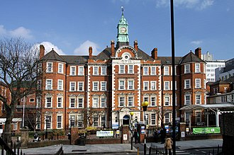 Hammersmith Hospital - Hammersmith Hospital in 2013