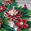 Handcrafted greeting card made by quilling red n white flowers.jpg