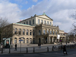 Staatsoper Hannover opera house and company in Hanover, Germany