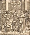 Hans Burgkmair I, The Archbishop Blessing the Child after the Baptism, NGA 47644.jpg