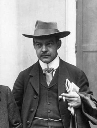"""Jean-Jacques Waltz - """"Uncle Hansi"""" in 1914"""