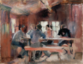 Harriet Backer - Study for Card Players - Kortspillere - Nasjonalmuseet - NG.M.01051.png