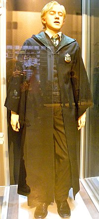 Harry Potter studio tour- Life size Draco Malfoy dummy.jpg