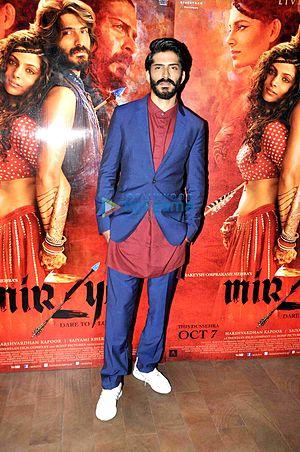 Harshvardhan Kapoor - Harshvardhan Kapoor at the screening of Mirzya