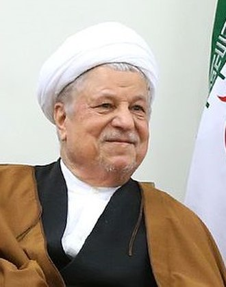 Expediency Discernment Council - Image: Hashemi Rafsanjani at Beit Rahbari