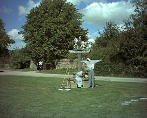 Haslingfield - Image: Haslingfield Scarecrow