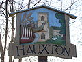 Hauxton village sign.JPG