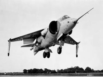 Harrier Jump Jet - Image: Hawker P. 1127 NASA