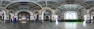 Haydarpaşa railway station - Interior hall in Haydarpaşa Terminal