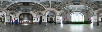 Haydarpaşa railway station - Interior hall in Haydarpaşa Terminal