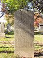 Hays (Robert), Lebanon Church Cemetery, 2015-10-23, 02.jpg