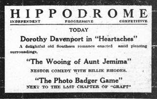 <i>Heartaches</i> (1916 film) 1916 movie by Lloyd B. Carleton