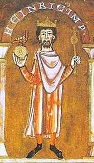 Henry IV, Holy Roman Emperor 11th century Holy Roman Emperor of the Salian dynasty