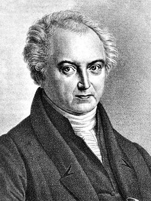 Heinrich Wilhelm Matthias Olbers - Lithograph by Rudolph Suhrlandt