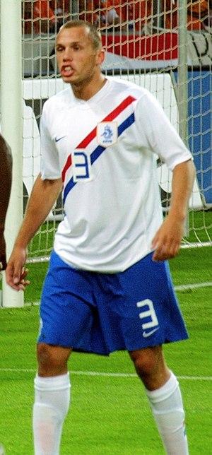 John Heitinga - Heitinga playing for the Netherlands