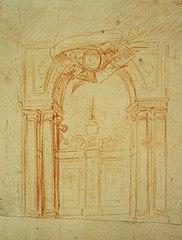 Design for a portal and choir entrance
