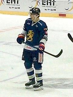 Henrik Haapala Finnish ice hockey player