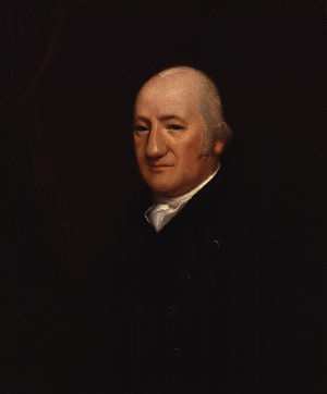 Henry James Pye - Portrait, oil on canvas, of Henry James Pye (1745–1813) by Samuel James Arnold (fl. 1800-1808)