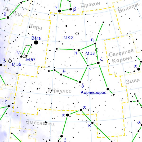 Шаровое звёздное скопление в Геркулесе, М31