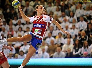 Camilla Herrem Norwegian handball player