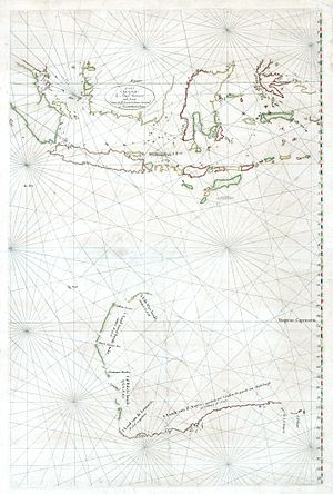 Hessel Gerritsz - The Malay Archipelago and Australia by Hessel Gerritsz