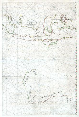 Hessel Gerritsz - The Malay Archipelago and Australia by Hessel Gerritsz