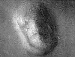 HiRISE face