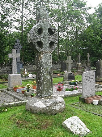 Termonfeckin - Termonfeckin High Cross, built in the 9th or 10th century