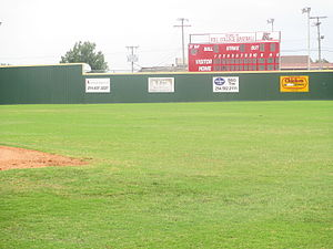 Hill College - Image: Hill College, TX, baseball field IMG 5574