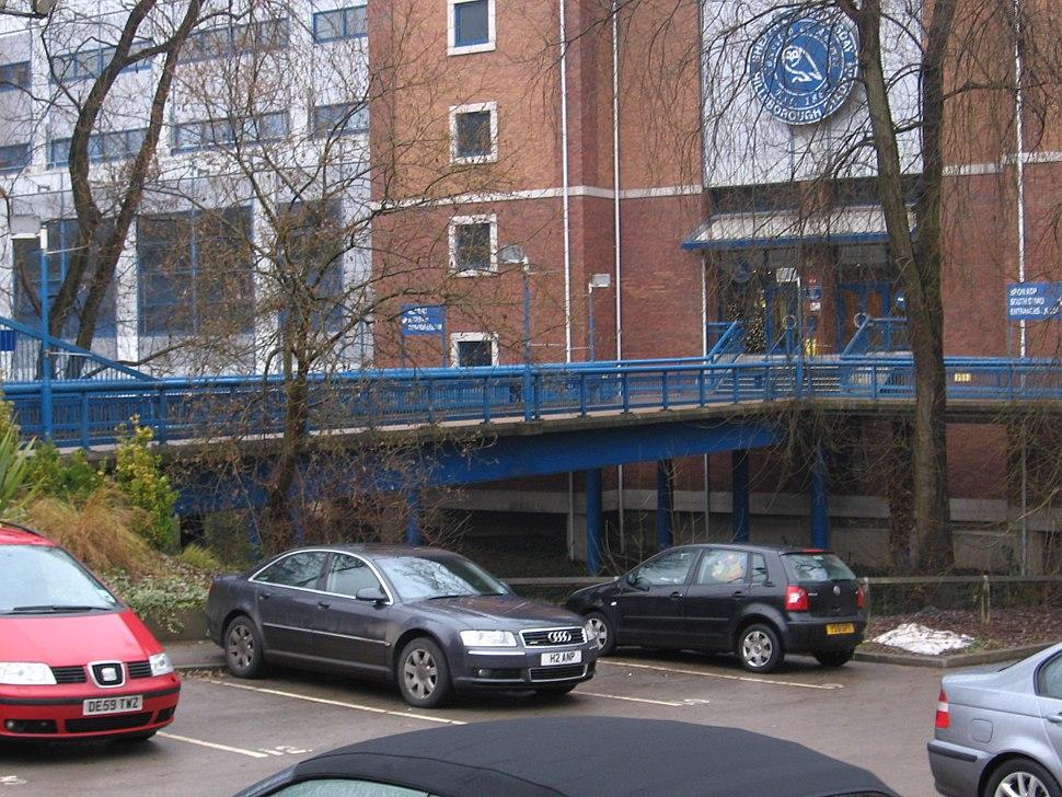 Hillsborough - Stadium footbridge