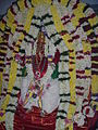 Hindu Shrine deocarted during Kalpathy festival.jpg
